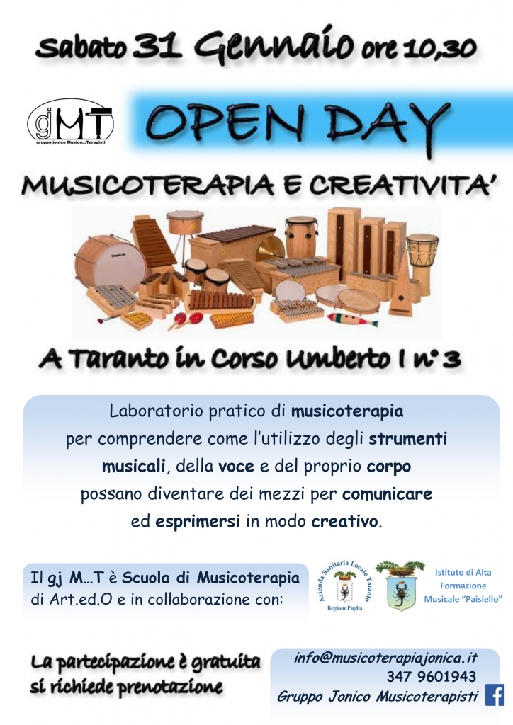 Open Day Musicoterapia